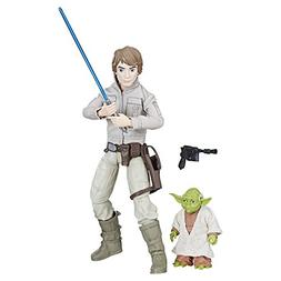 Star Wars Forces of Destiny Luke Skywalker and Yoda Adventur