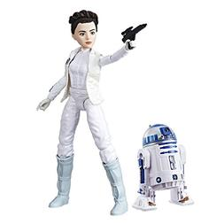 Star Wars Forces of Destiny Princess Leia Organa and R2-D2 A