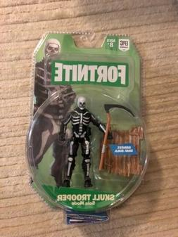 "Fortnite Solo Mode Skull Tooper & Accessories 4"" Action Figu"