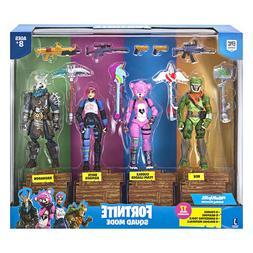 """FORTNITE Squad Mode 4 Figure Pack """"Rex, CuddleTeamLeader, Br"""