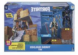 Fortnite Turbo Builder Set Action Figure Playset Jonsey and