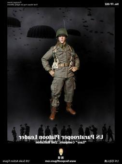 Facepoolfigure FP-002 WWII US Paratrooper Platoon Leader Eas