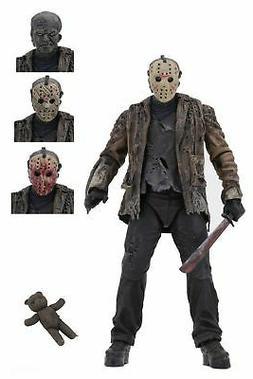 "Freddy vs Jason - 7"" Scale Action Figure - Ultimate Jason"