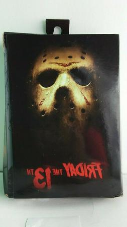 NECA FRIDAY THE 13TH 2009 JASON ACTION FIGURE DAMAGED BOX FI