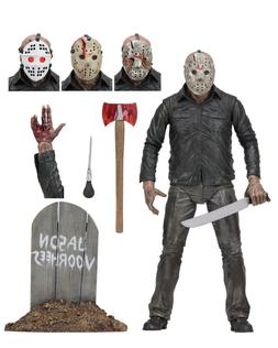 "Friday the 13th - 7"" Scale Action Figure - Ultimate Part 5 J"