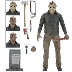 """Friday the 13th Freddy vs Jason 7"""" Action Figure Ultimate Vo"""