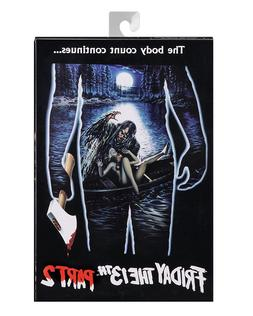 """NECA Friday the 13th Part 2 Ultimate Jason Voorhees 7""""action"""