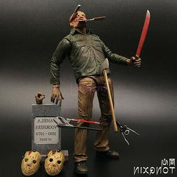 Friday the 13th Part IV 3D JASON VOORHEES Scale Ultimate Act