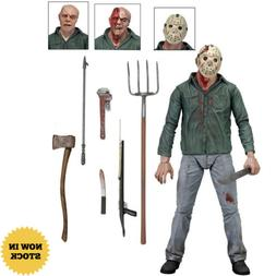 """Friday the 13th Part IV 3D JASON VOORHEES 7"""" Scale Ultimate"""