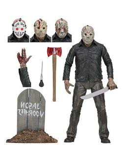 """NECA Friday the 13th Ultimate Part 5 Jason Voorhees 7"""" Sca"""