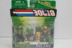 Hasbro G.I. Joe Bombstrike vs Croc Master 3 3/4 inch Figures