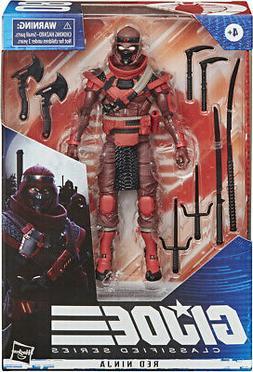 G.I. Joe Classified Series 6-Inch Red Ninja Action Figure PR