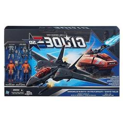 G.I. Joe 50th Anniversary Silent Strike Set with Black Skyst