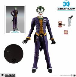 DC Gaming Wave 1 Arkham Asylum Joker 7-Inch Action Figure IN