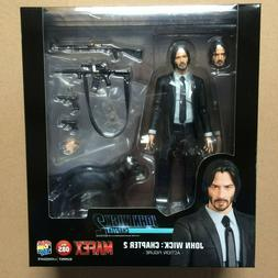 Genuine MEDICOM TOYS MAFEX No.85 John Wick CHAPTER 2 Action