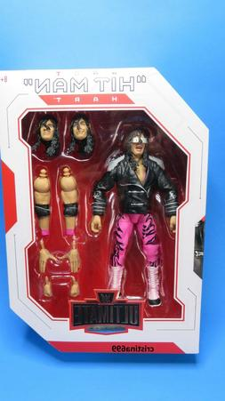 WWE Bret Hitman Hart Action Figure Ultimate Edition Mattel