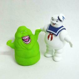 Ghostbusters Marshmallow Man Slimer Green Ghost Action Figur