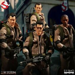 Mezco Ghostbusters One:12 Collective 4-Pack 1/12 Scale Actio