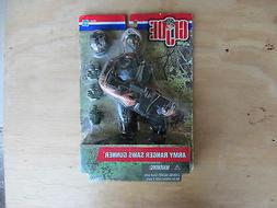 GI Joe Hasbro 2001 Action Figure 12in Army Ranger Saws Gunne