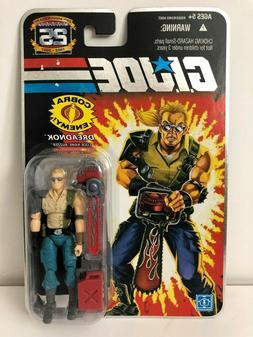 GI Joe 25th Anniversary Dreadnok Buzzer Action Figure Hasbro