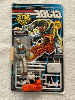 GI Joe Battle Corps Frostbite Action Figure 1992 Carded Hasb