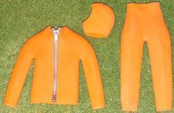 GI JOE Hasbro Action Man Orange Scuba Dive Suit brand new in