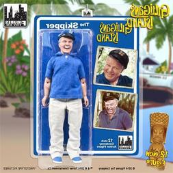 GILLIGANS ISLAND; THE SKIPPER, 8 INCH ACTION FIGURE , FIGURE