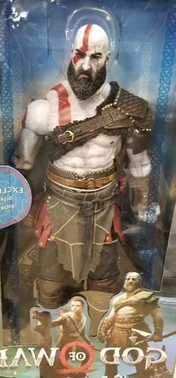 NECA - God of War  - 1/4 Scale, 18 Inch Action Figure - Krat
