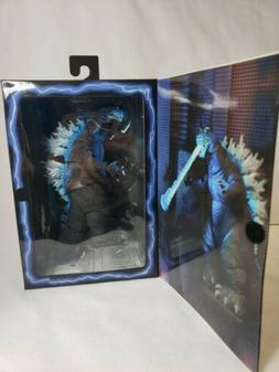 "Godzilla Blue 12"" Head To Tail Action Figure 2001 Atomic Bla"