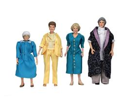 """Golden Girls - 8"""" Clothed Action Figures – Dorothy Rose Bl"""