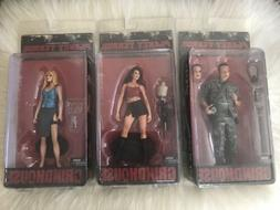 NECA Grindhouse Planet Terror 7 Inch Action Figures Lot of 3