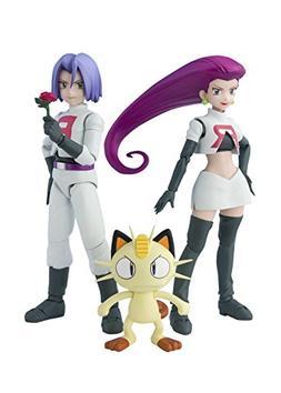 S. H. Figuarts Pokémon Rocket Group about 140 mm ABS & PVC