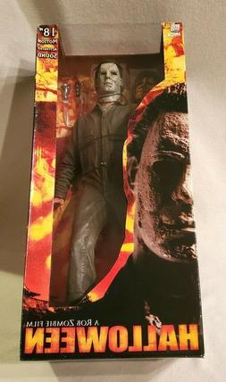 """NECA HALLOWEEN MICHAEL MYERS 18"""" Inch MIB Motion Activated S"""