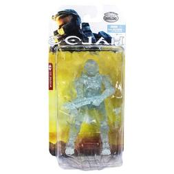 Halo 3 Collector's Club Clear Spartan Soldier 6 Inch Action