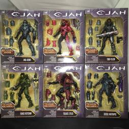 HALO Alpha & Snipe Crawler 6 inch Figures: Full Set of Six F