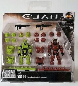 HALO MEGA BLOKS SPARTAN CUSTOMIZER PACK MICRO ACTION FIGURES