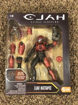 "HALO Universe Series SPARTAN VALE - 6"" inch Red action figur"