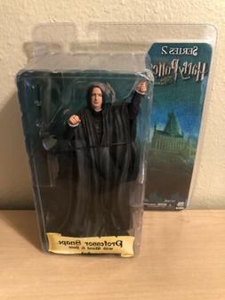 NECA Harry Potter Series 2 Professor Snape Action Figure RAR