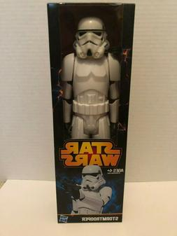 hasbro star wars stormtrooper action figure 12in