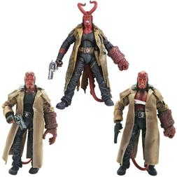 """MEZCO HB Series 2 Wounded Hellboy 7"""" PVC Action Figure Colle"""