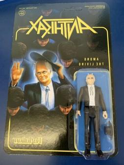 Super7 Heavy Metal Band Anthrax Among The Living ReAction Ac