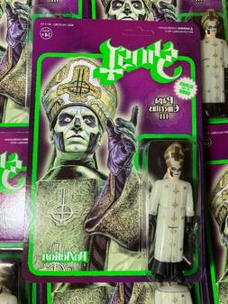Super7 Heavy Metal  Ghost ReAction Figure Glow Papa Emeritus