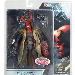 "Mezco Hellboy Battle Damaged HB 7"" Action Figure Exclusive 1"