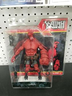 "Hellboy Closed Mouth Action Figure Mezco 2005 8"" Signed By M"