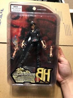 "Hellboy II 2 Liz Sherman 7"" Action Figure 2008 Mezco Handgun"