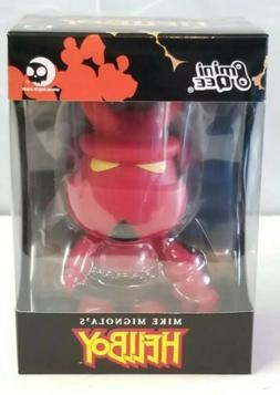 "Dark Horse Deluxe Hellboy Mini Qee with Horns 5"" Action Figu"