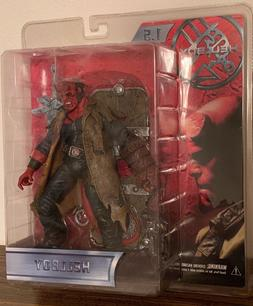 Mezco Hellboy Movie Series 1.5 with Sword and Battle Damage