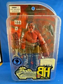 "Hellboy Red w/ Towel Six-Pack Keychain 7"" action figure Mezc"