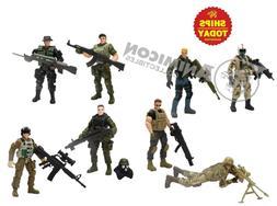 Hero Force ELITE SOLDIERS True Heroes 8 Pack 1 & 2 Action Fi