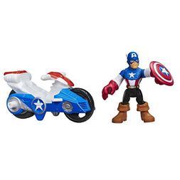 Playskool Heroes Marvel Super Hero Adventures Captain Americ